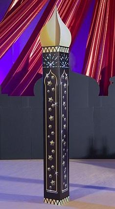Our Arabian Paradise Columns have a Middle Eastern look with it's gold embellishments. Each Arabian Paradise Column measures 9 feet high! Arabian Nights Prom, Arabian Nights Theme Party, Arabian Theme, Arabian Party, Moroccan Party, Moroccan Theme, Moroccan Lounge, Aladdin Party, Aladdin Halloween