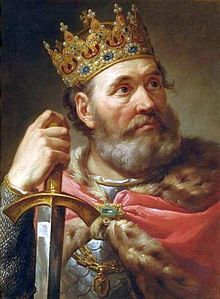 Bacciarelli - Chrobry, King of Poland (1025).