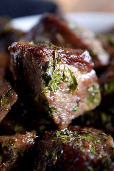 Roasted Herbed Beef Tips - Lord Byron's Kitchen