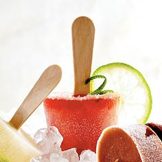 I love watermelon...and a good margarita suits me well...so this must be perfect!