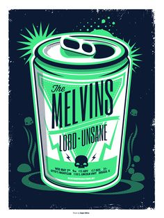 The Melvins on Behance