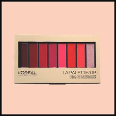 Lipstick palettes are making a comeback in a big way! We've rounded up the best lip palettes for every budget that you'll want to add to your shopping list now. Lip Makeup, Makeup Brushes, Makeup Tips, Makeup Products, Lipstick Palette, Lipstick Shades, Face Forward, Lip Cream, Lip Colors