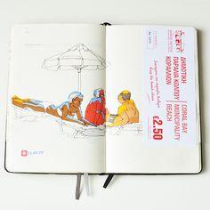 Cyprus travelbook by Sally Mao