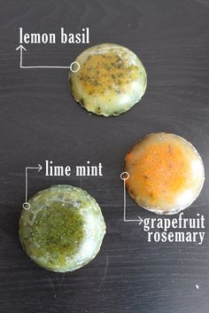 Eat Sleep Make: CRAFT: easy DIY Citrus and Herb Soaps. Going to use the Rosemary, Pineapple Sage, Lavender, Basil,  and Mint from our garden! Christmas Gifts?