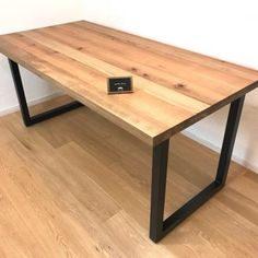 ☆ Dining table Iron frame Leg Size order is possible ☆ Table and desk Sunny days mail order Picnic Table, Wood Table, Bookshelves, Office Desk, Dining Bench, Iron, Frame, Furniture, Home Decor