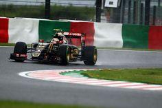 Pastor Maldonado (VEN) Lotus F1 E23.Japanese Grand Prix, Friday 25th September 2015. Suzuka, Japan.