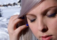 Dnešní Makeup: Crossing Purple Line