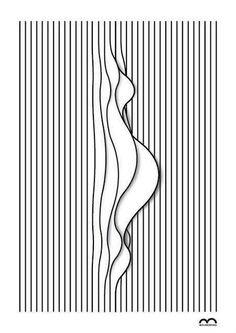 раскраски иллюзии