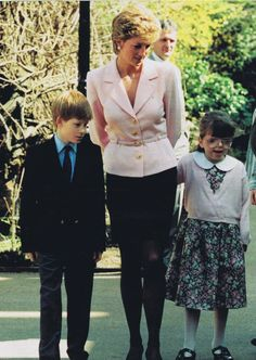 Princess Diana and Prince Harry 1995