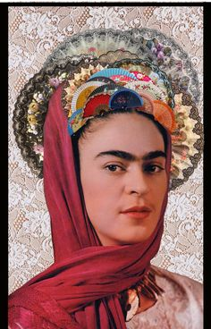 Frida Kahlo collage collageart