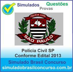 Ola Concurseiros, se você pretende prestar o concurso da Polícia Civil de São Paulo 2013, aproveite que estamos com novos simulados e questões CONFORME EDITAL 2013, só no Simulado Brasil Concurso você encontra este mega material.  http://simuladobrasilconcurso.com.br/simulados/concursos  Descubra!!! Compartilhe!!! Curta!!!  Muito Obrigado e Bons Estudos, Simulado Brasil Concurso  #SimuladoBrasilConcurso, #SimuladoPoliciaCivilSP