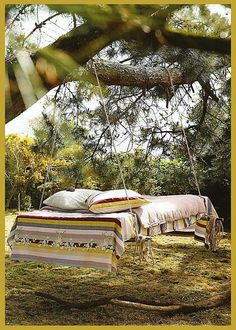 I WILL have some awesome bed hammock on my land that I intend to own someday...