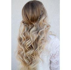 #Loose #curls with #headband