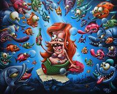 Fat Super Mario Bros Painting Android Wallpaper HD ...
