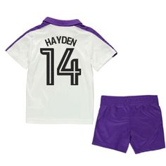 2016-17 Newcastle Third Mini Kit (Hayden 14) #Sport #Football #Rugby #IceHockey