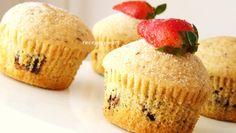 Muffiny s horkou čokoládou