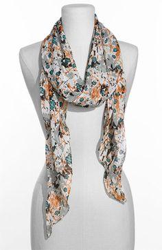 Floral scarves are my new fave #floral #scarf #nordstrom @Nordstrom