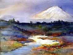 Bonnie WHITE  Pacific Northwest Watercolorist Mnt. Hood