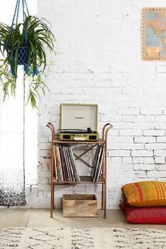 4040 Locust Rustic Metal Table | Urban Outfitters | $90
