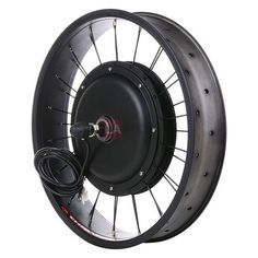 20 inch Front Fat Tire Frame Electric Bicycle Conversion Kit exactly reaches you needs! By adding an electric motor wheel, a LED light and a throttle, Electric Bicycle, Electric Motor, Electric Cars, Electric Scooter, Scooters, E Bike Kit, Golf Cart Batteries, Lead Acid Battery, Tricycle