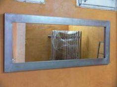 Espejo Ten en hierro barnizado 180x80