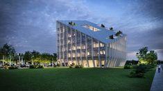 Курс на устойчивое развитие и торжество геометрии в новом проекте Peter Pichler Architecture. Команда миланского архитектурного бюро .