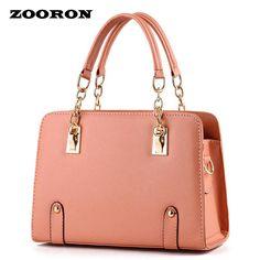 ZOORON New Fashionable high quality women PU leather handbags Bag Lady tote bag women designer handbags messenger bags