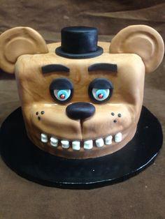 5 nights at Freddy's Cake Birthday Ideas, Birthday Cake, Birthday Parties, Freddy S, Cupcake Ideas, Custom Cakes, Kid Stuff, Minecraft, Birthdays