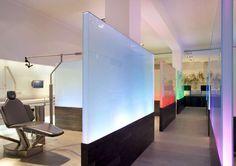 Projeto de interiores: cliníca odontológica em Barcelona