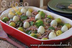 #BomDia! Para o #almoço temos esta receita de Tabule Vegetariano é deliciosa, saudável, leve e mega fácil de preparar. #Receita aqui: http://www.gulosoesaudavel.com.br/2016/08/09/tabule-vegetariano/