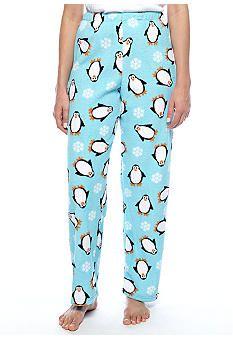 Kim Rogers® Penguin Plush Pant #belk