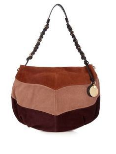 Madie block-colour suede shoulder bag | See By Chloé | MATCHESFASHION.COM US