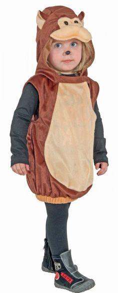 Kinderkostüm Affe für Jungen und Mädchen