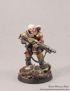 WilhelMiniatures: Genestealer Cult 4th Generation Hybrids