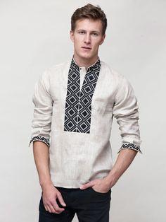 Мужская вышиванка ED1 - купить ручную работу по лучшей цене от магазина ЕтноДім