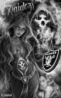 Raiderettes/The Reaper Of Death