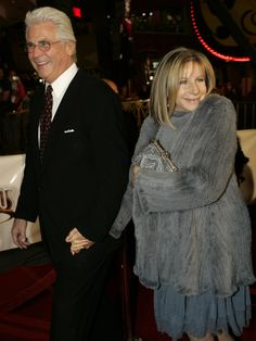 .Barbra Streisand and husbands James Brolin