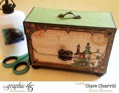 Rare Oddities ATC Box Clare Charvill Graphic 45 1 #rareoddities #graphic45
