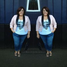 Life & Style of Jessica Kane { a body acceptance and plus size fashion blog }... Such a cute outfit ))