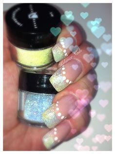 Young Nails acrylic glitternails