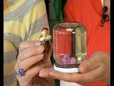 ▶ Como hacer una bola de Cristal para el árbol Navideño - YouTube