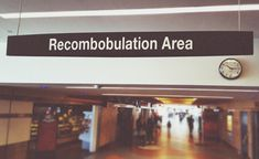 """""""recombobulation"""" is not technically a word, but what else do you call it when you're trying to regroup yourself after feeling discombobulated thanks to the TSA screening process? Trust Yourself, Take Care Of Yourself, Map Websites, Space Sounds, That Moment When, Comic Sans, You Call, Roommate, Going To Work"""