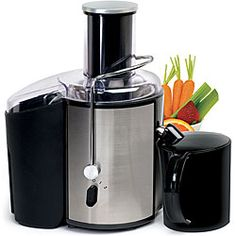 Stainless Steel Full-function 2-speed Fruit/ Vegetable Juicer  BG  have this and love  good price and cleans up easily