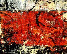 "Bill Gingles, Iron Star, 2014, Acrylic on canvas, 16"" x 20""  billgingles.net"