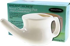my whole sinus/sick life changed when I finally started using the neti cinsistantly. Nasal Cleansing Neti Pot