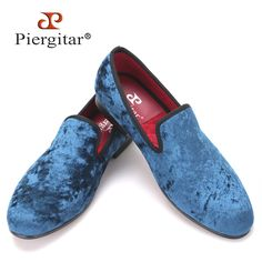 Buy now Pierigitar 2017 new Five color men new velvet flats shoes Banquet and Prom men dress shoes Fashion smoking slippers male loafers just only $88.00 - 98.00 with free shipping worldwide  #menshoes Plese click on picture to see our special price for you