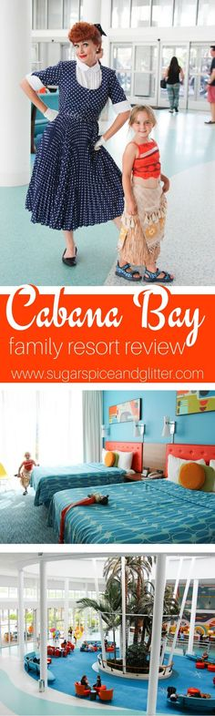 A family review of Cabana Bay Beach Resort at Universal Studios Florida - the best resort for kids at Universal Studios