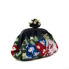 Dolce & Gabbana needlepoint clutch