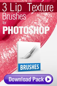 Photoshop Brushes: 3 Lip Texture Brushes for Photoshop http://pixelstains.net/3-photoshop-brushes-painting-lip-texture/
