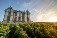 If you're in Champagne to sample its most famous export product, rest assured you'll be taken well care of by the passionate sommelier. Champagne, Slate Roof, Second Empire, France, Brickwork, Workout Rooms, The Conjuring, Dates, 19th Century